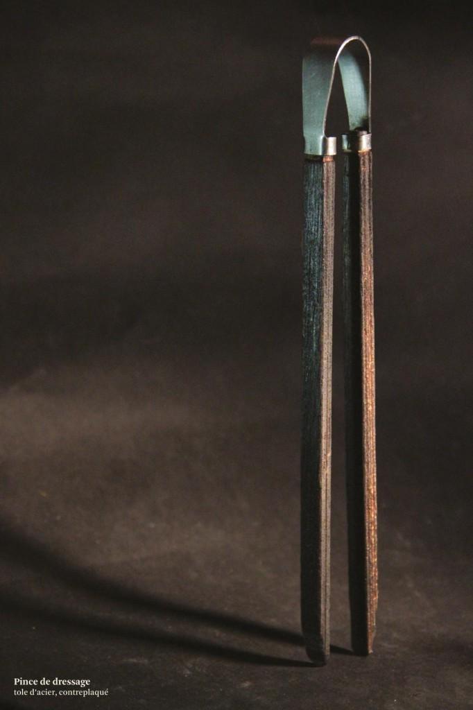 maquette réaliste échelle 1,  multiplis brulé, tôle acier trempée
